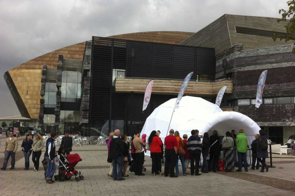 THE DANCE DOME TOURING AT THE WMC
