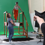 DIRECTING FILM AT CULTVR GREEN STUDIO