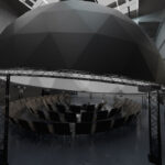 CULTVR IMMERSIVE DOME SPACE CGI RENDER