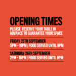 OPENING TIMES CULTVR CAFE, CARDIFF, WALES, UK