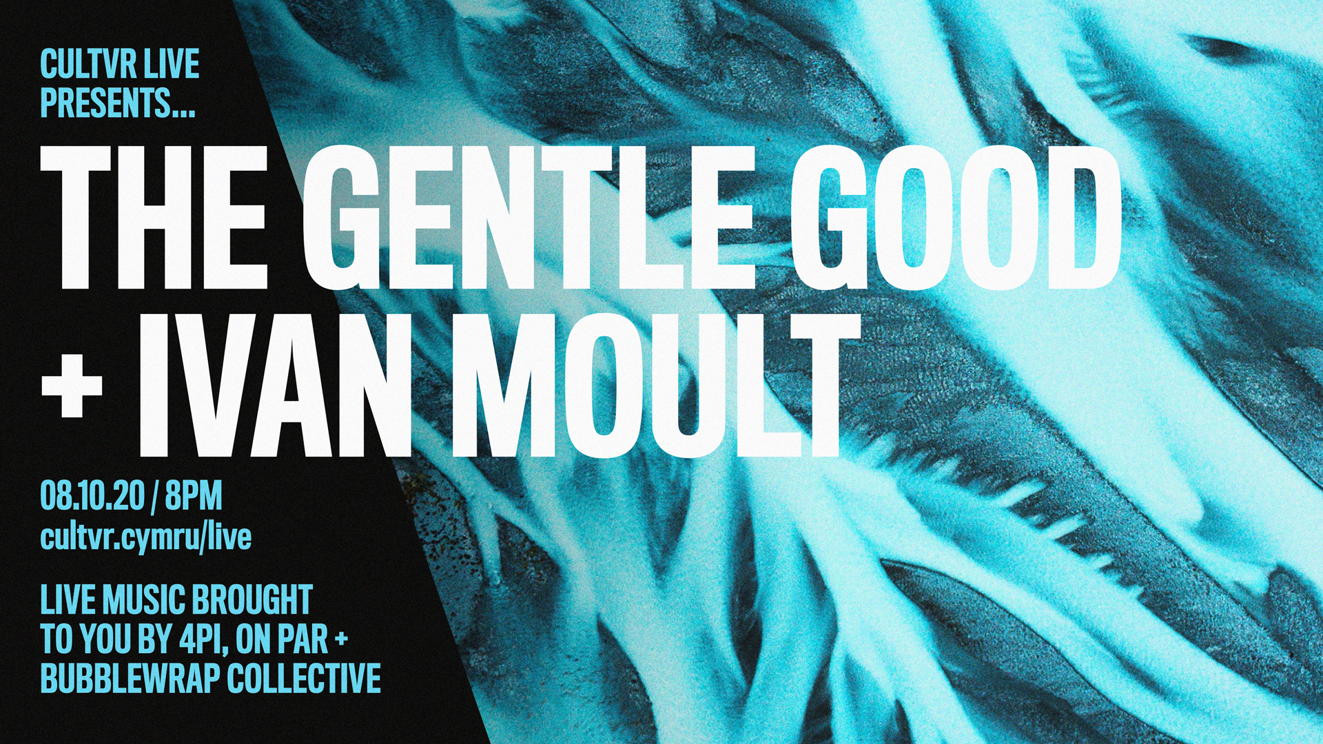 8TH OCTOBER / CULTVR LIVE: THE GENTLE GOOD + IVAN MOULT