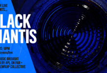 3RD DECEMBER / CULTVR LIVE: BLACK MANTIS